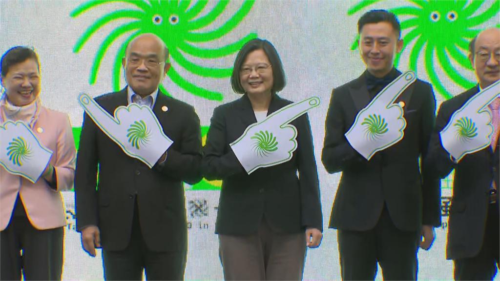 快新聞/「2020台灣設計展」竹市盛大登場 蔡英文大讚: 新竹人走路越來越有風!