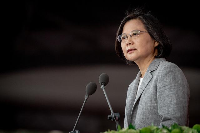 快新聞/國安會議談中國軍事威脅 蔡英文裁示:示弱退讓不會帶來和平