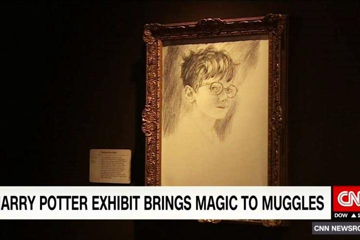 哈利波特出版20週年 特展首公開J·K·羅琳手稿