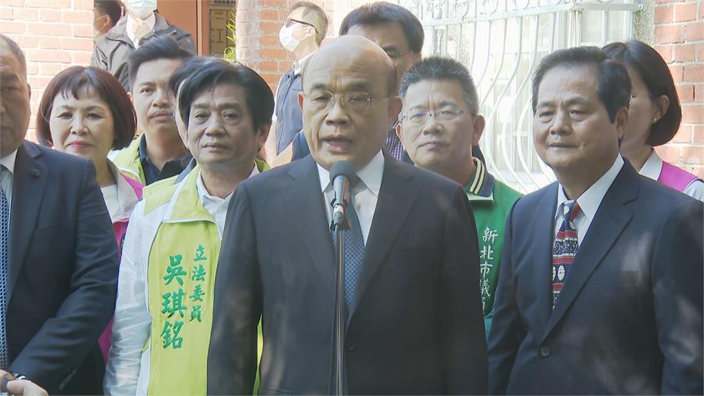 快新聞/馬英九護光復節批民進黨扯「一中」 蘇貞昌嘆:做過總統講話最好以台灣利益優先