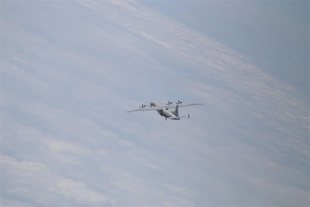 快新聞/中國軍機又來! 運8技偵機1架次闖我西南空域遭防空飛彈追監