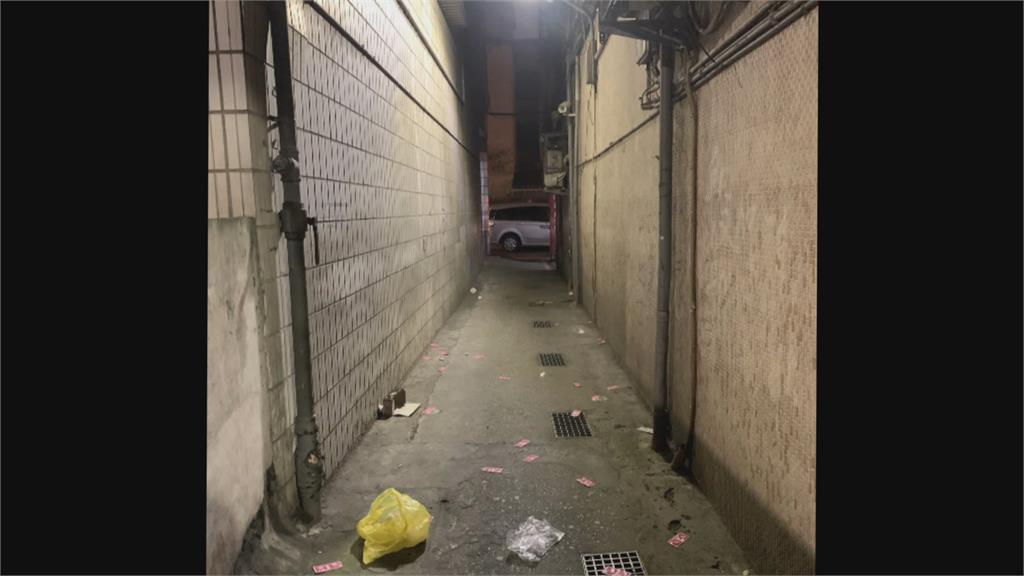 萬華「鑽石大樓」封樓掃黃  巷弄下起「保險套雨」