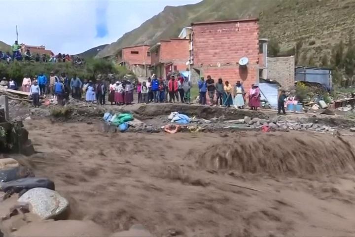 玻利維亞豪雨釀水患、土石流 5萬人流離失所