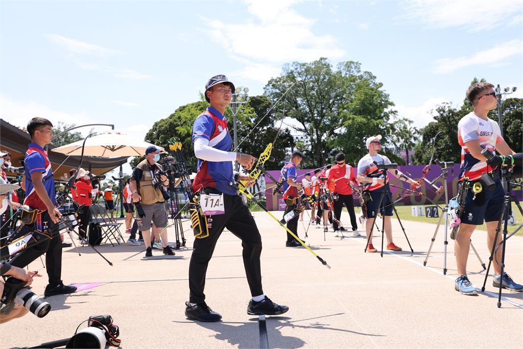 快新聞/台灣射箭男團出征世錦賽 逆轉勝日本奪銅