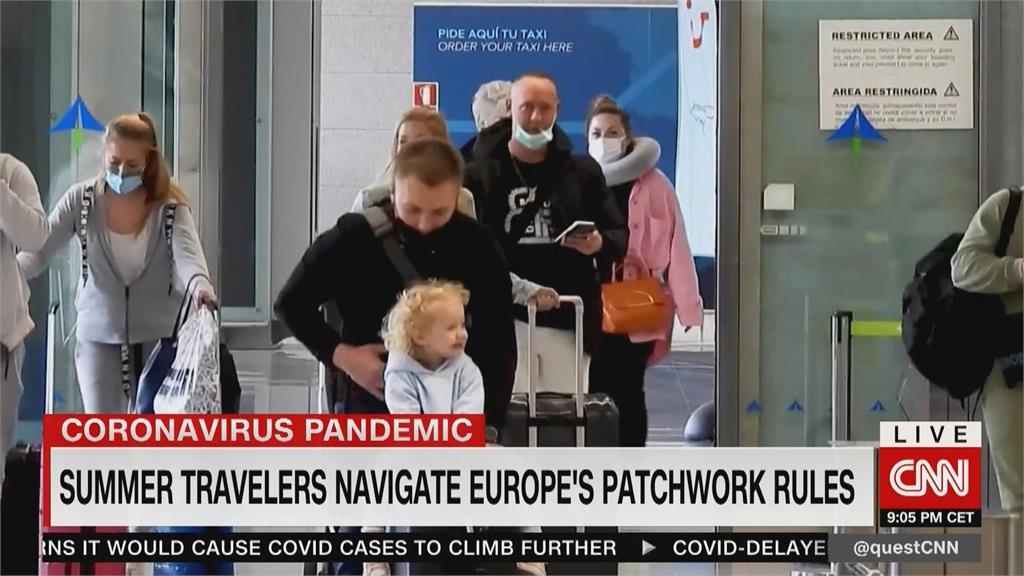 歐盟疫苗護照7月上路 非成員國入境管制不一惹議