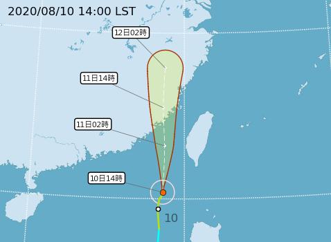 快新聞/【全台停班課整理】米克拉颱風海陸警齊發 金門明天停止上班課