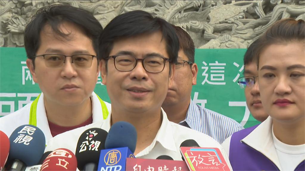 快新聞/藍白狂打綠貪汙 陳其邁籲「正面選舉」:沒講過吳益政詐領助理費被判刑