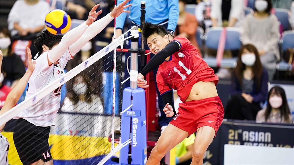 男排亞錦賽台灣隊不敵日本 19日與中國爭季軍