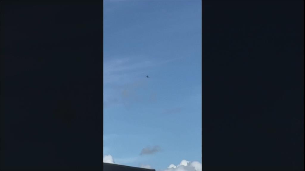 拜登發表完聯大演說 下秒紐約上空竟現F16