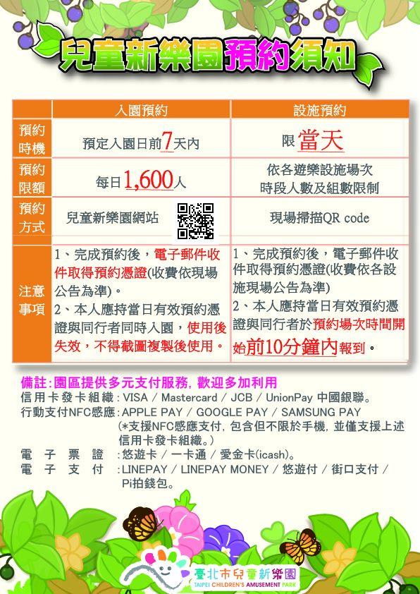 快新聞/兒童新樂園8/1「有條件開放」 今起開放網路預約限額1600人