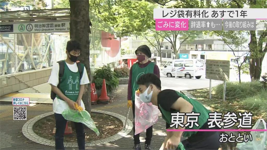 日本塑膠袋收費滿1年 逾7成5民眾超商購物不用塑膠袋