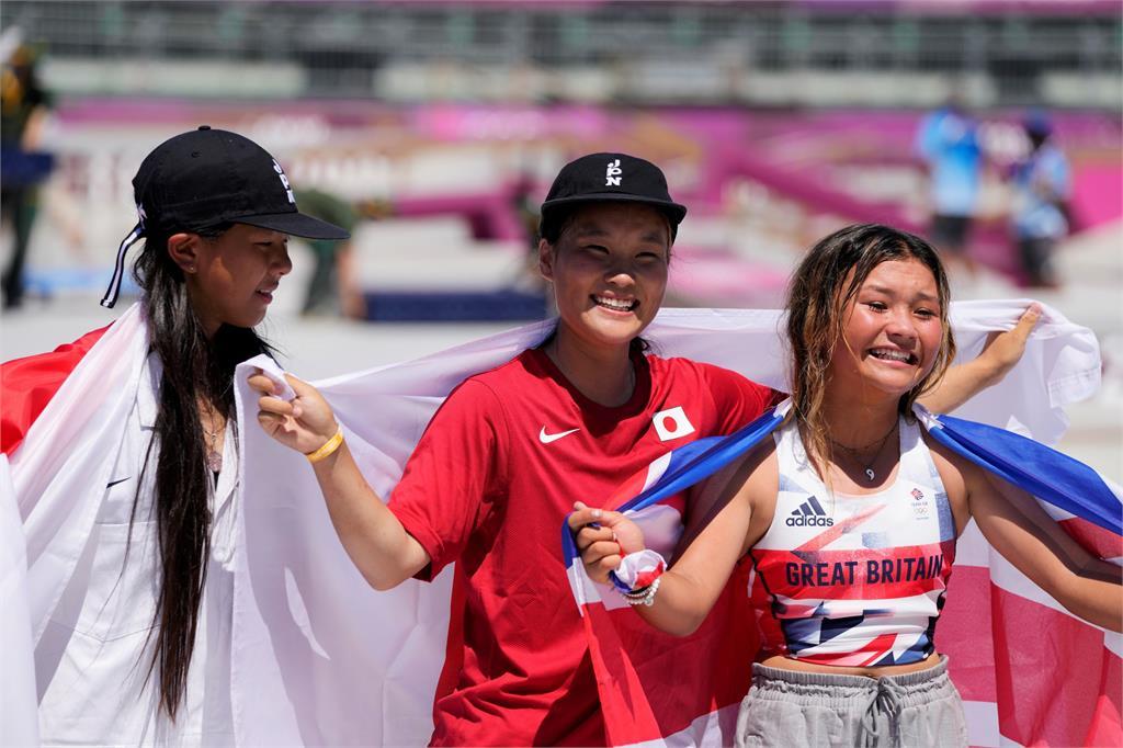 東奧/滑板銀牌創本屆最年輕奪牌紀錄 12歲小選手「人如其名」超酷