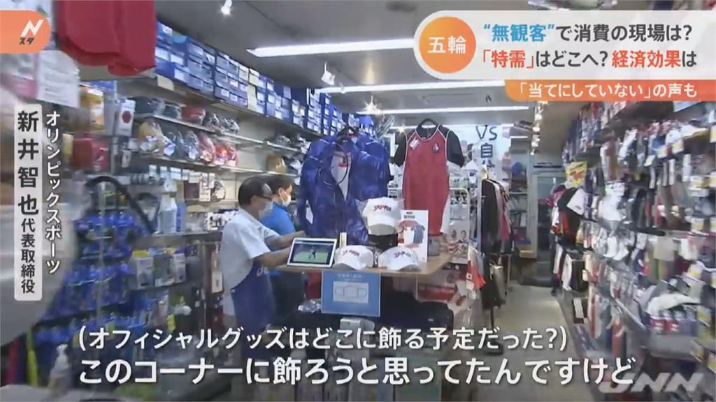 東奧97%賽事改為無觀眾 民眾購買商品意願降低