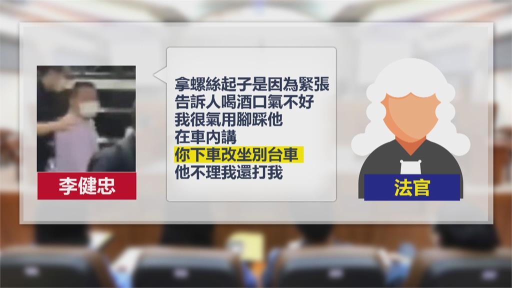 """不滿座椅被踢猛刺乘客 運將開庭辯稱""""一時緊張"""""""