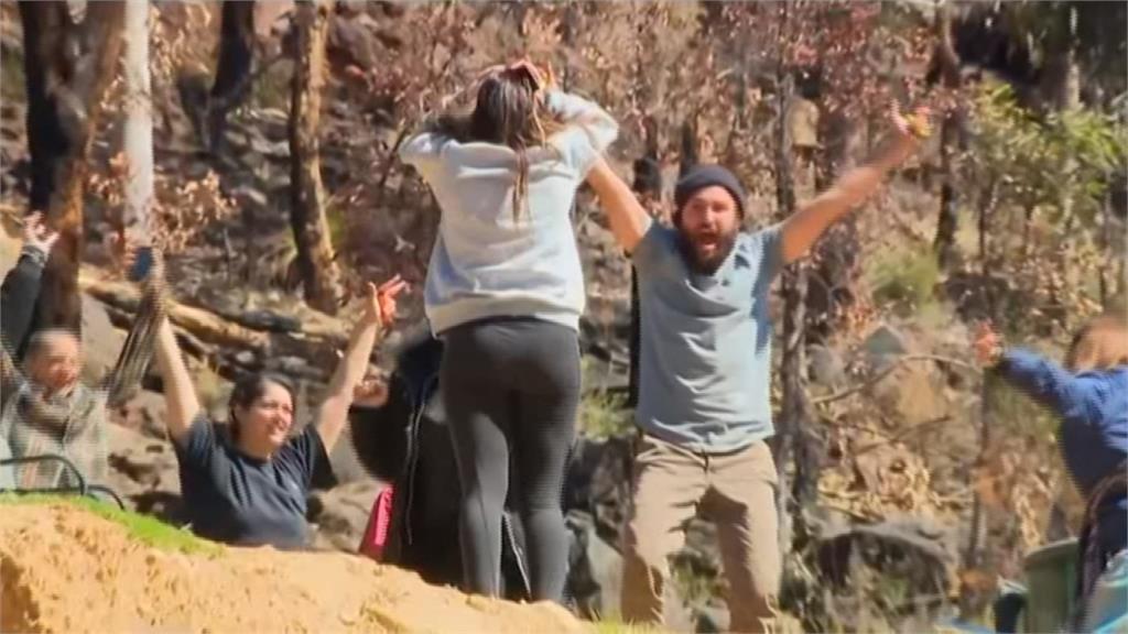 奇蹟!澳洲3歲童迷走叢林3天 毫髮無傷獲救