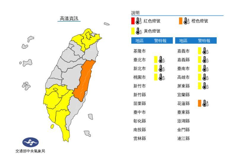 快新聞/9縣市飆36度高溫!入秋首波東北風明報到 北海岸、東北部有陣雨