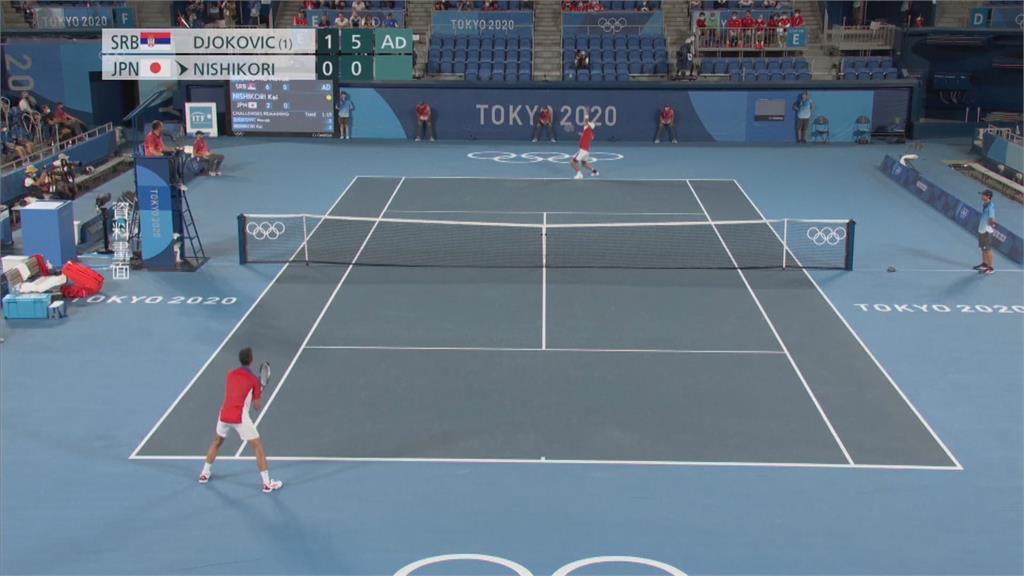 網球金滿貫夢碎 喬科維奇東奧四強賽落敗