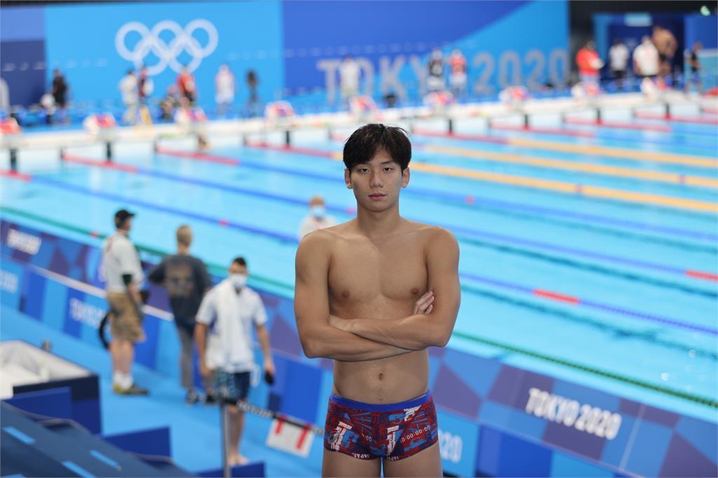東奧/台灣蝶王奧運分組第一!王冠閎「歐爸外型+精實肌肉」帥暈網友