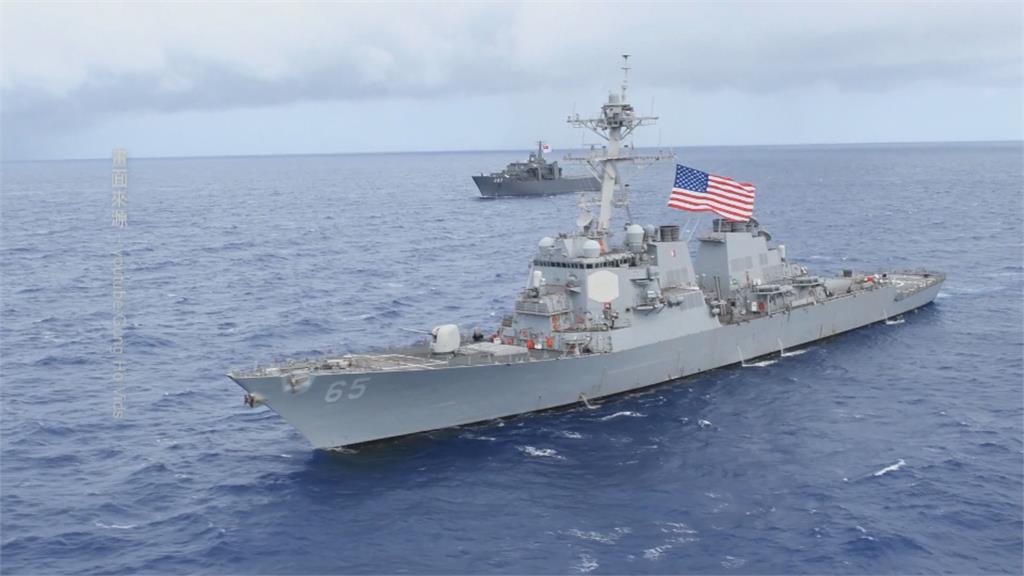 拜登任內第7次「美驅逐艦穿越台海」 台日美議員戰略論壇「安倍以神秘嘉賓出席」