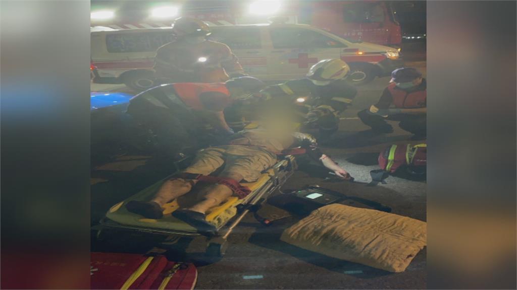 甩尾車速過快釀悲劇 撞飛車友2死3傷