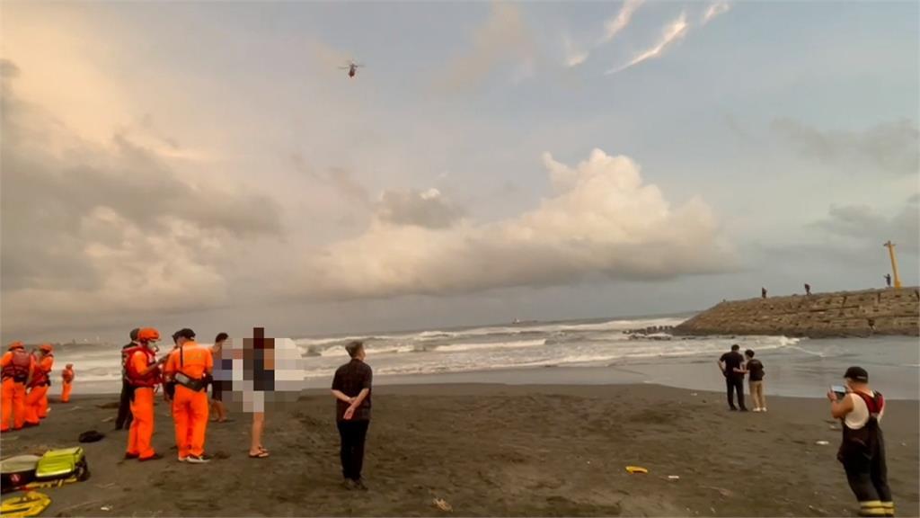 旗津父子落海遭浪捲走 清晨尋獲父親遺體