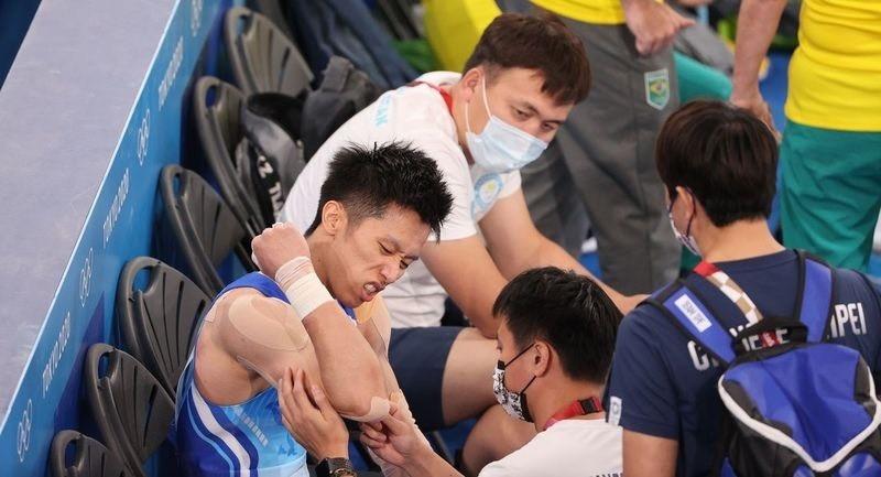東奧/體操全能賽落馬受傷!李智凱報平安:僅皮肉傷「沒有任何問題」