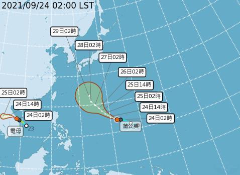 「秋分」剛到白天東北季風增強有感 林嘉愷:2輕颱對台暫無影響