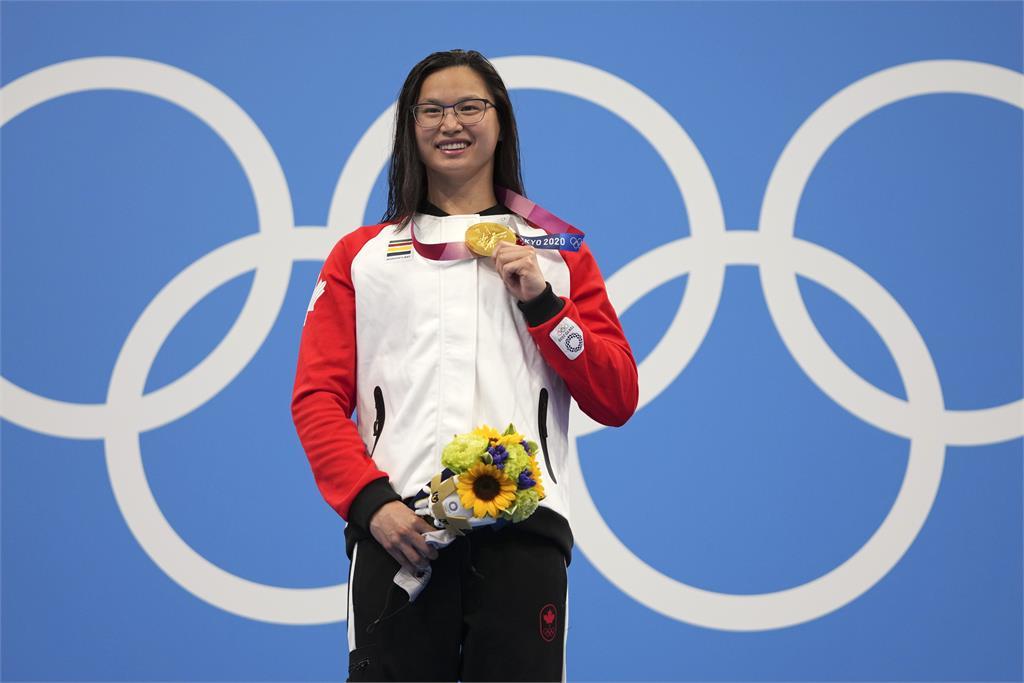 東奧/加拿大華裔泳將出生中國1歲被棄養!20年後為加拿大摘金