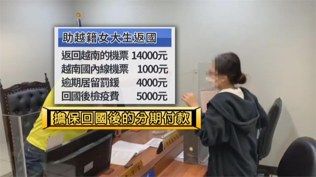 越生居檢期外出買菜被罰20萬 因無力償還滯台