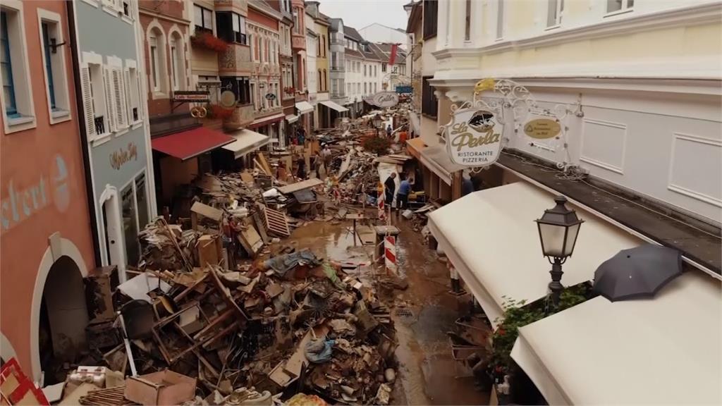 全球/「言語無法形容的慘狀」 百年洪災強襲西歐