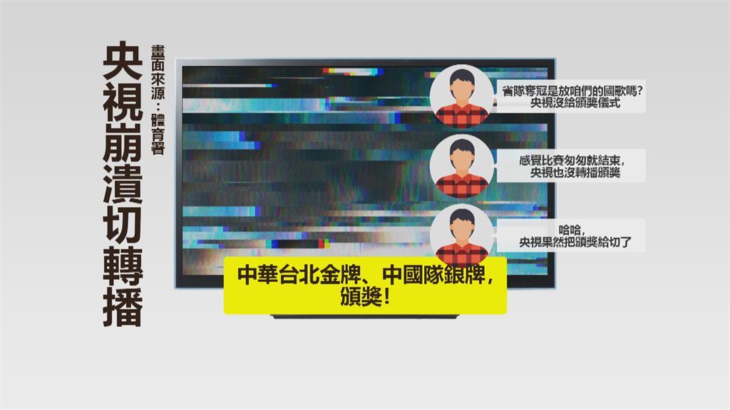 輸給台灣就是不行!?央視切斷羽球男雙頒獎轉播