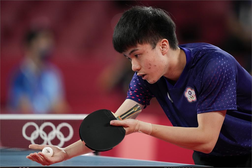 東奧/台灣桌球男團遺憾止步8強!2:3不敵德國無緣晉級