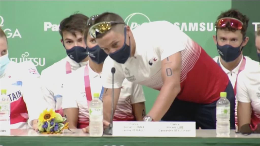 他9年前收法國名將奧運服 今成英國金牌選手