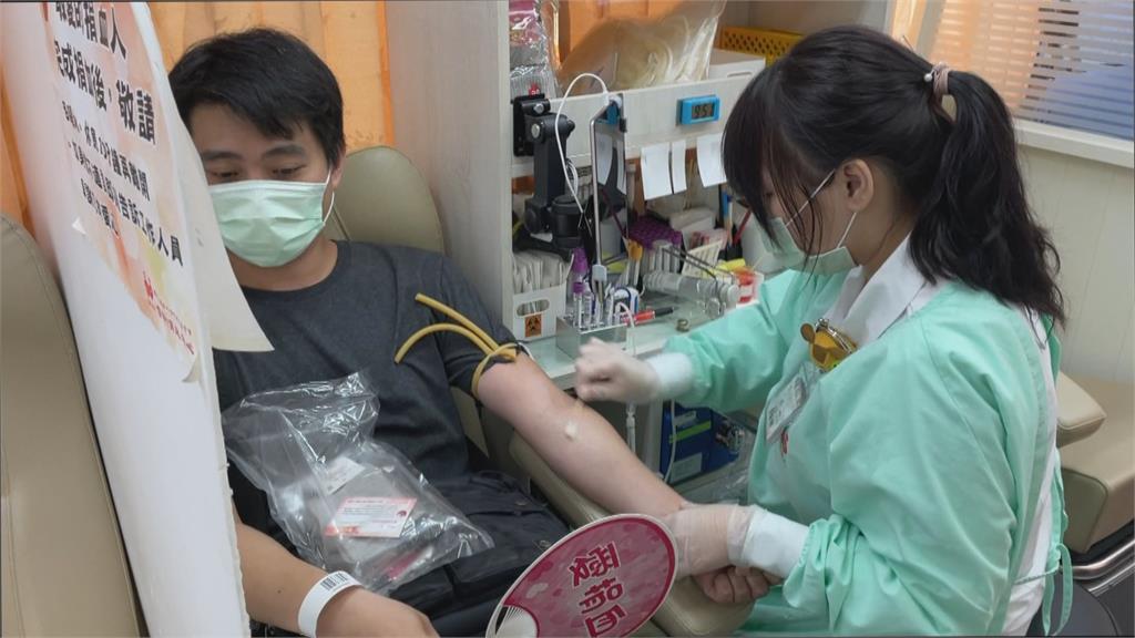 捐血一袋救人一命! 紫南宮錢母套幣為血庫大進補
