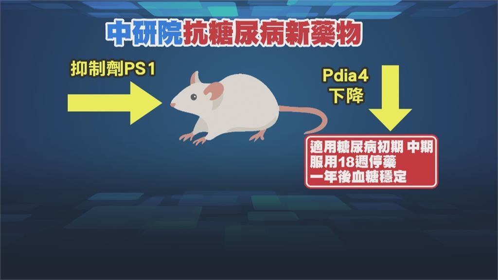 糖尿新契機 標靶藥「抑制劑PS1」抑制胰島素衰竭