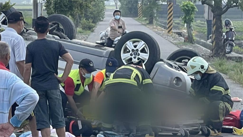 老公去年過世...幼教師載3兒車禍遇劫 2兒喪命、9歲童截肢