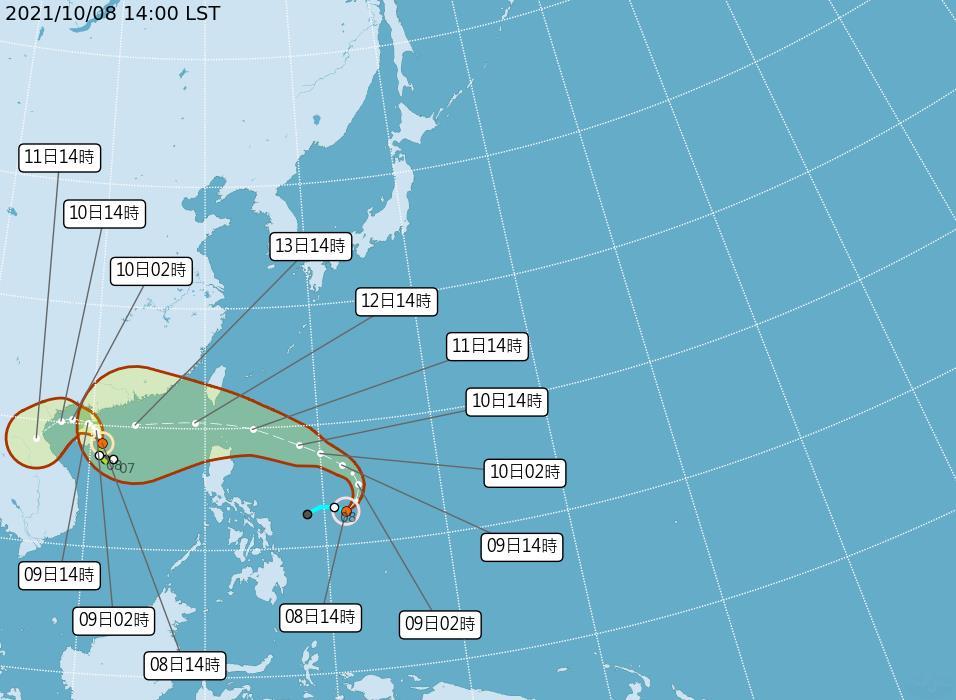 快新聞/第18號颱風「圓規」生成!下週一起全台變天