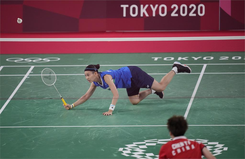 東奧/戴資穎「奧運金牌戰」苦戰輸給陳雨菲 殘念拿下銀牌!