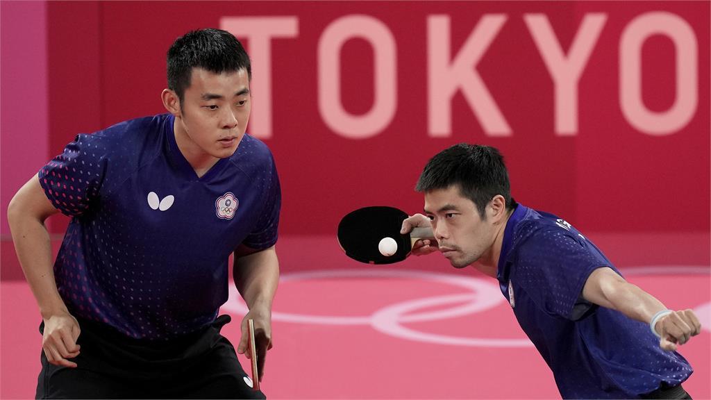 東奧/台灣桌球男團遺憾止步8強!0:4不敵德國無緣晉級