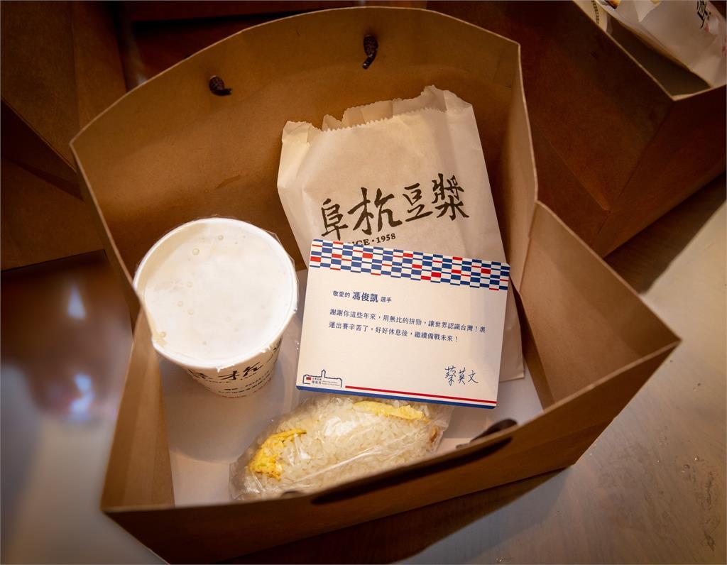 東奧/蔡英文送「奧運英雄餐」不含丁香?專家:有做功課