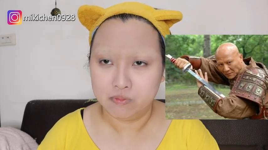真女神駕到!她仿妝時尚媽祖 「拿貓毛當耳環」讓網友全笑瘋
