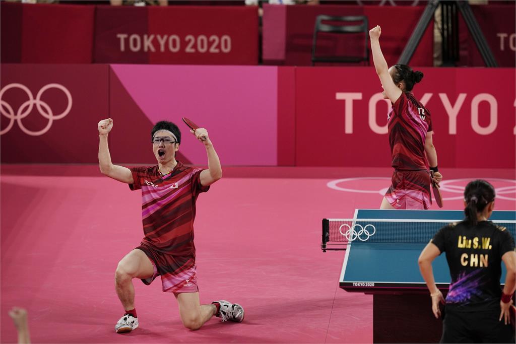 東奧/締造日本桌球歷史「水美組合」幼照曝光 水谷隼延後退役只為她