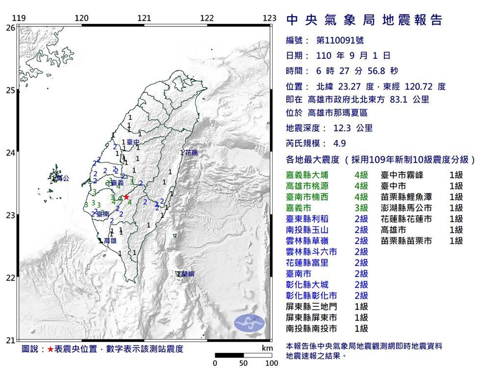 快新聞/地震影響!台鐵「斗南=台南」列車一度延誤 影響1150名旅客