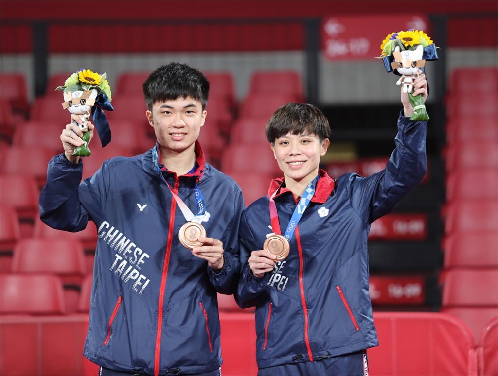 東奧/林昀儒桌球男單「挺進4強」!4:0擊敗斯洛維尼亞再取1勝