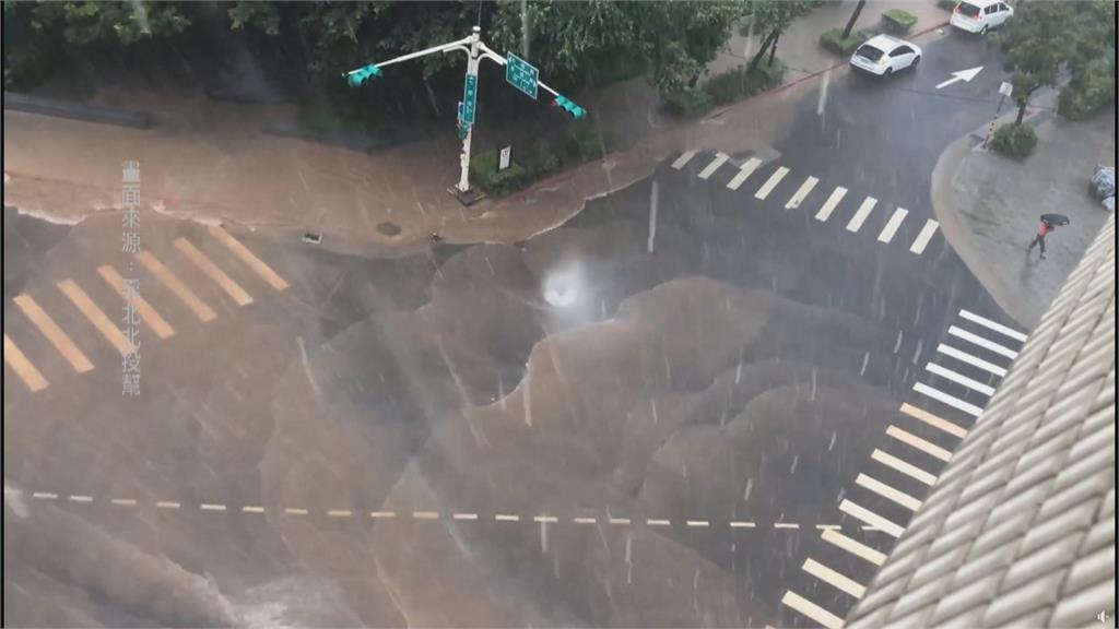 越晚雨越大! 18縣市雨神發威 中南部嚴防豪雨