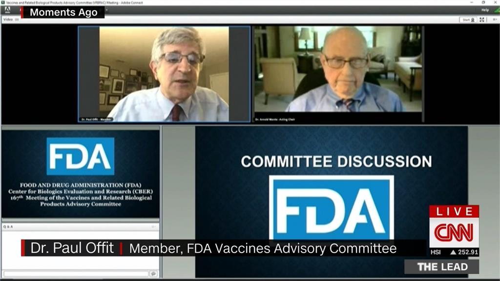 美FDA反對打第三劑 僅建議65歲、高風險族群追加