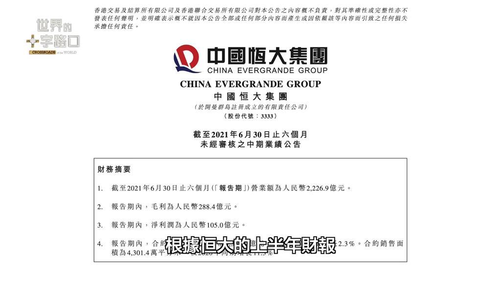 中國恆大倒了會怎樣?專家解析債務危機5原因 4後果恐掀金融海嘯