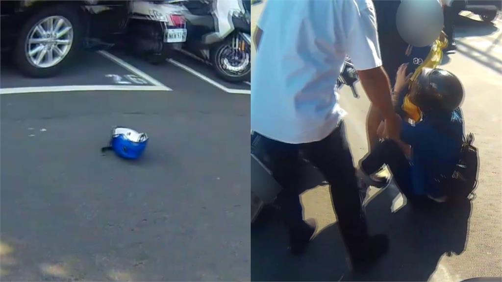 3車6人撞成一團!原因竟是「一頂安全帽」 網友驚呆:如同打保齡球