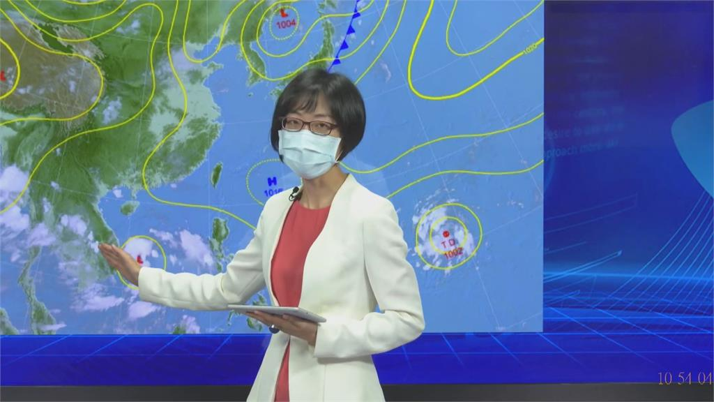 入秋首波東北風增強迎風面降溫 關島、南海熱低壓生成有機會成颱