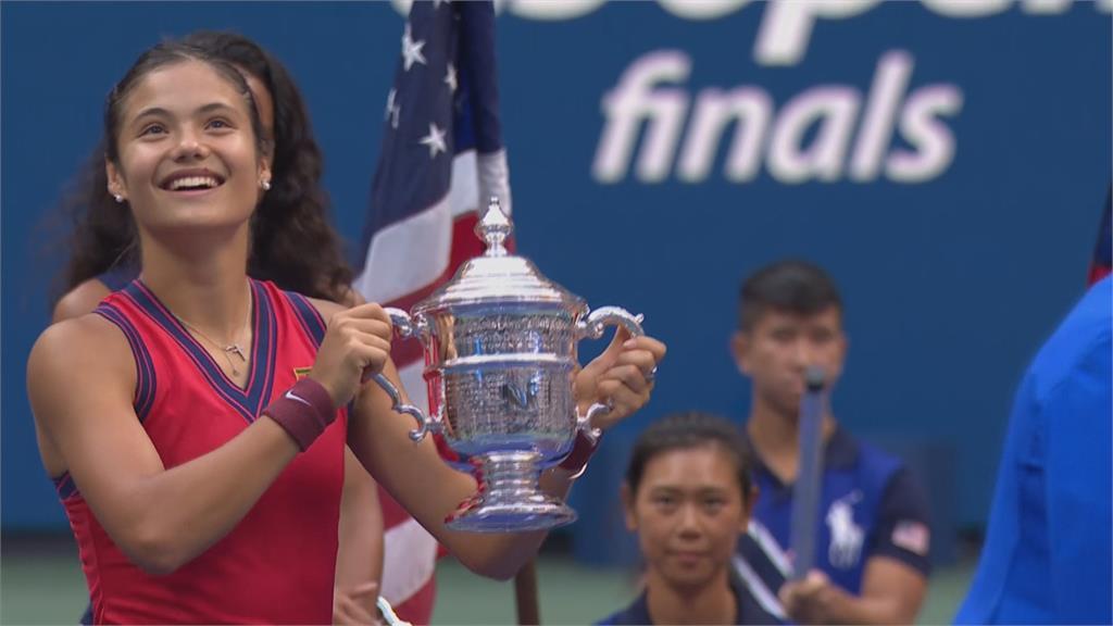 網球新寵拉杜卡努 紐約證交所接受財經台專訪